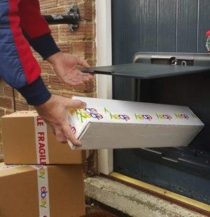 IoT missed parcels
