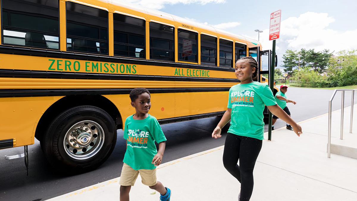 V2G school buses
