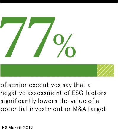 ESG investing senior executives