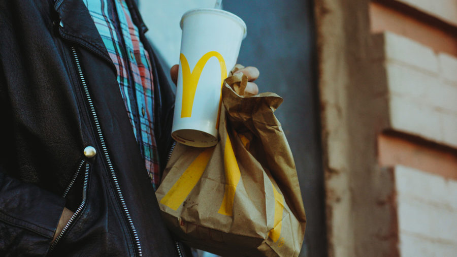 McDonald's paper straws