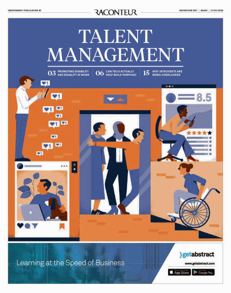 Talent management cover