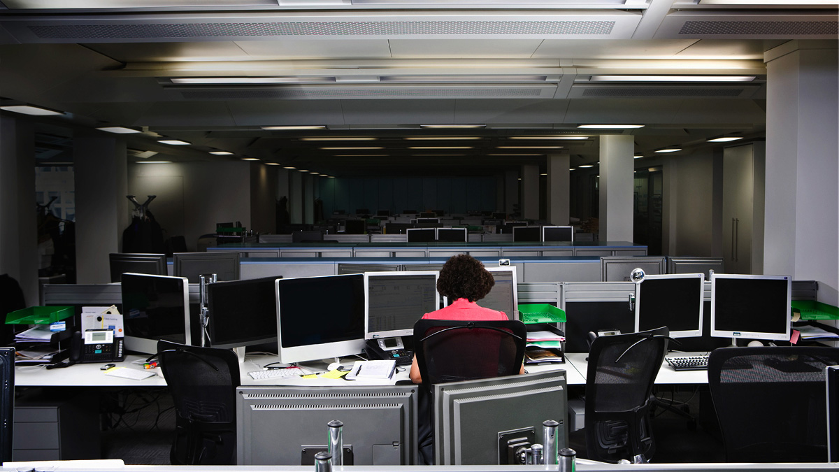 Workplace technology loneliness