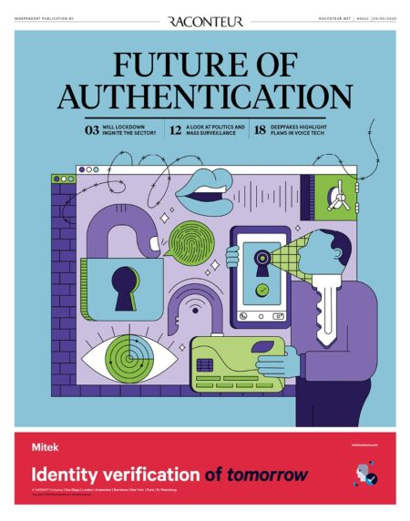 Authentication cover