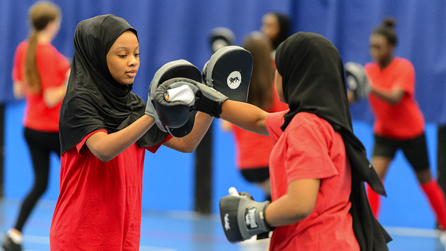 Boxing at Bristol City Academy; Sport England has sped up grant awards to manage the influx of applications amid the crisis