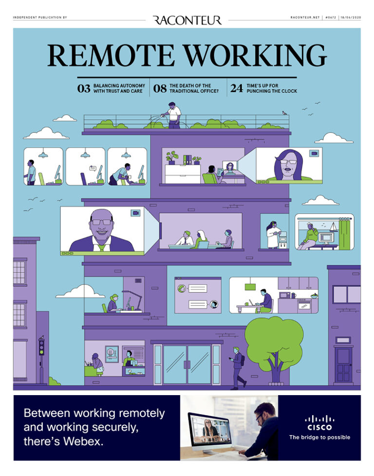 Remote Working June Cover