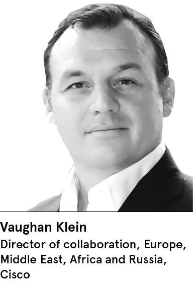 Vaughan Klein, Director of collaboration, Cisco