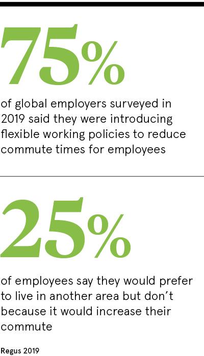 Global employers introducing flexible working