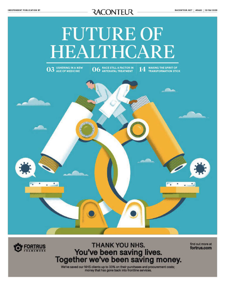 Healthcare August cover