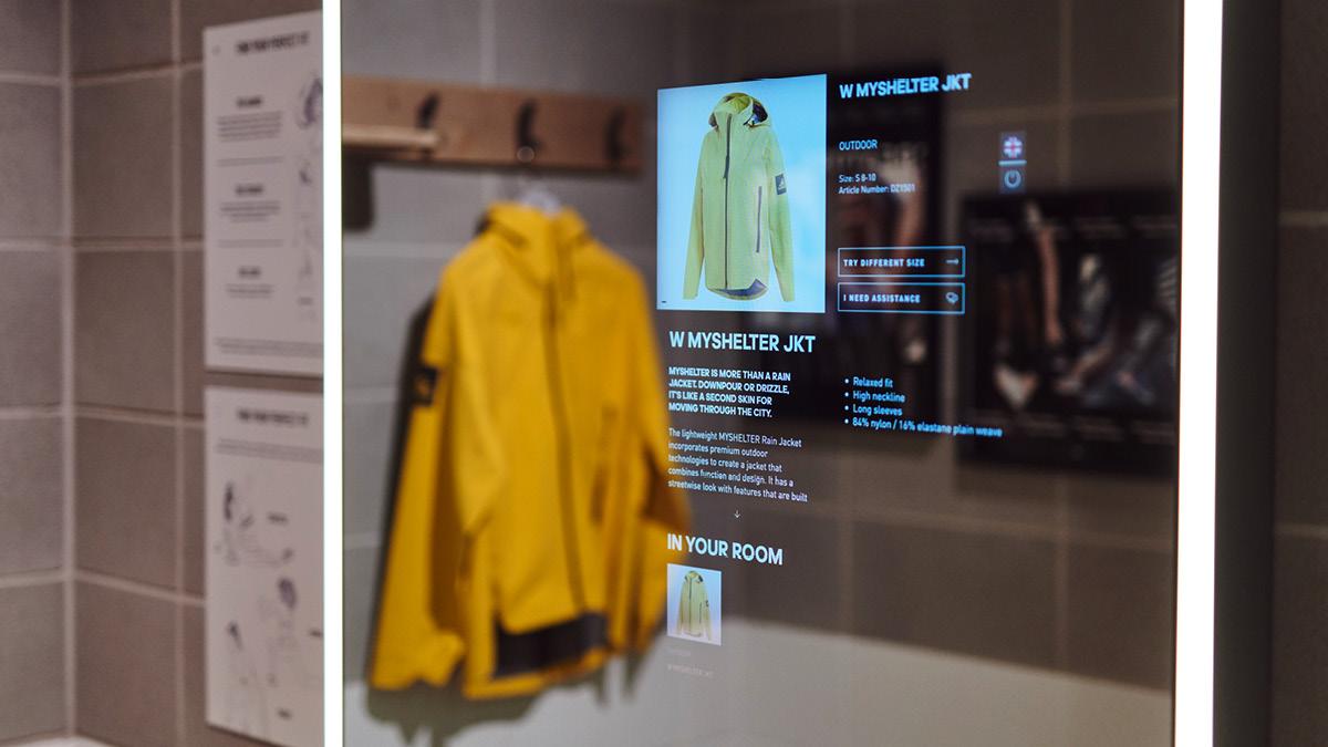 adidas interactive shopping