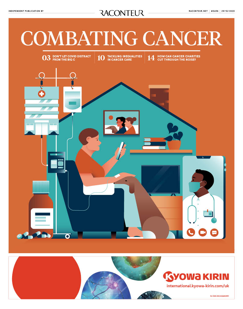 Combating Cancer 2020 cover