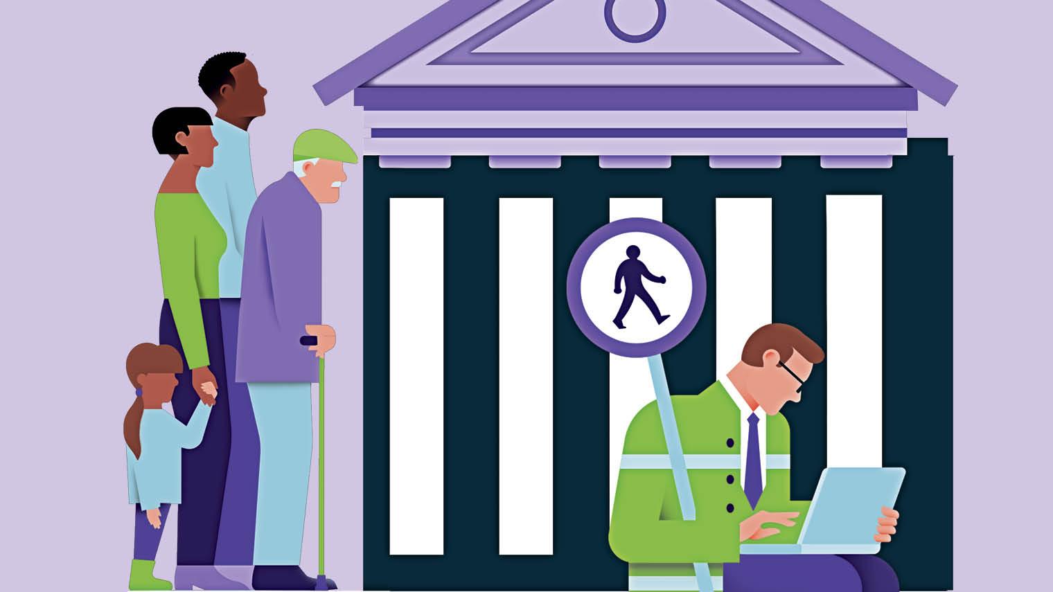 Banks in COVID society