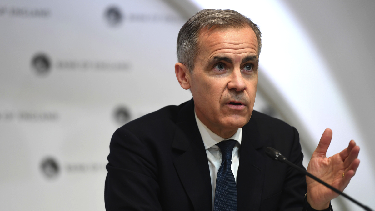 Former governor of the Bank of England Mark Carney