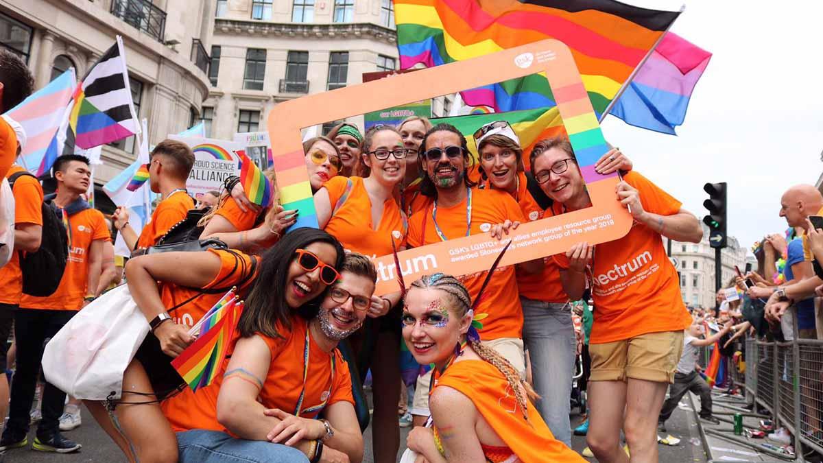 GSK at Pride 2019