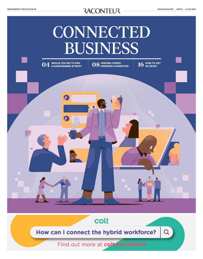 Connected Business cover