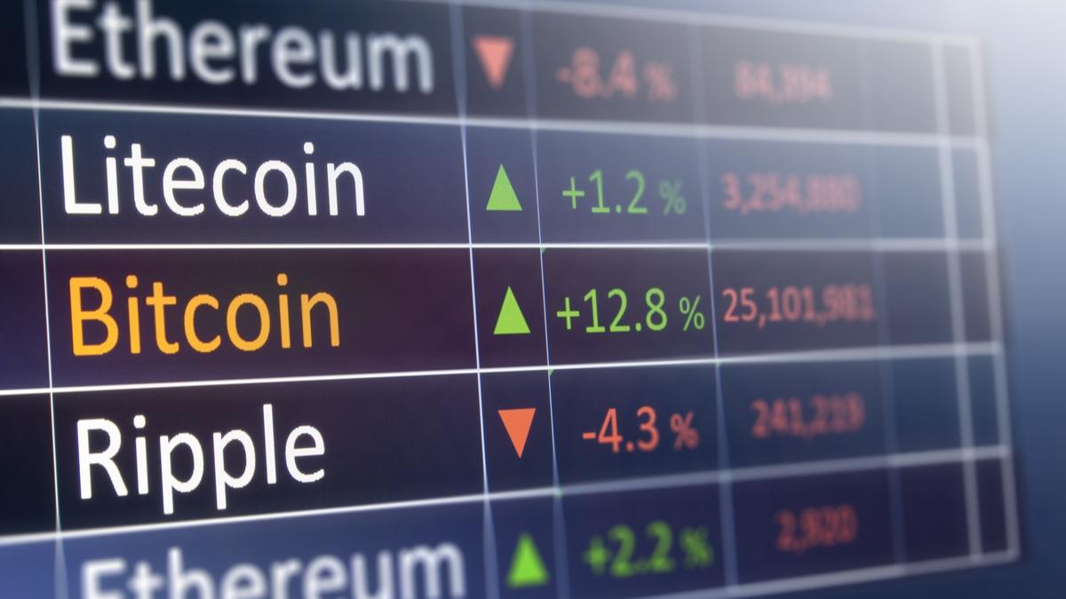 cryptocurrency price volatility