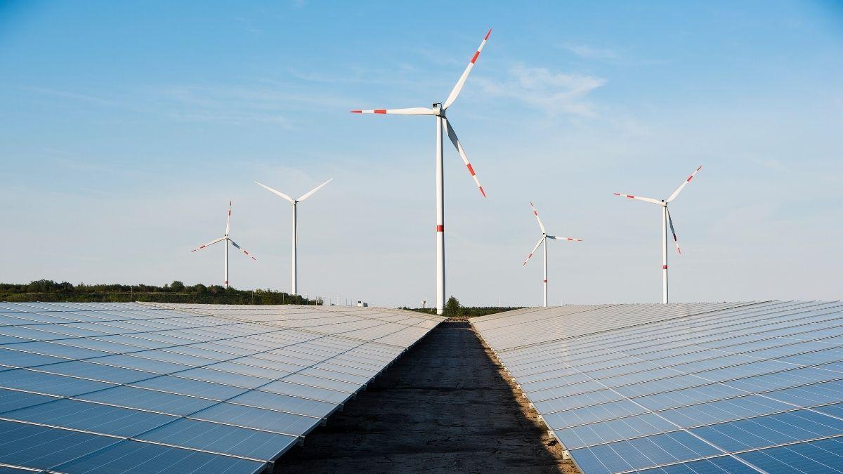 Renewable energy solar farm