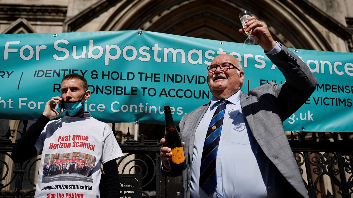 Dozens of former subpostmasters, who were convicted of theft, fraud and false accounting because of the Post Office's defective Horizon accounting system, finally had their names cleared by the Court of Appeal in April 2021