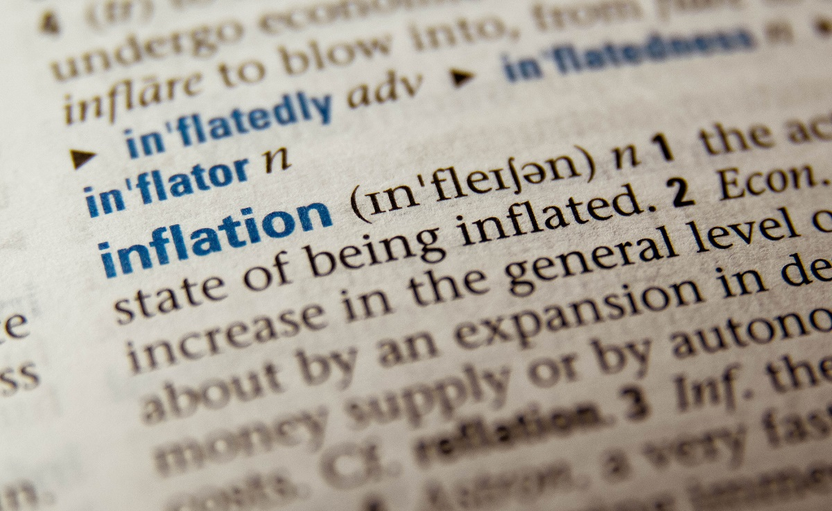 Inflation, word, dictionary