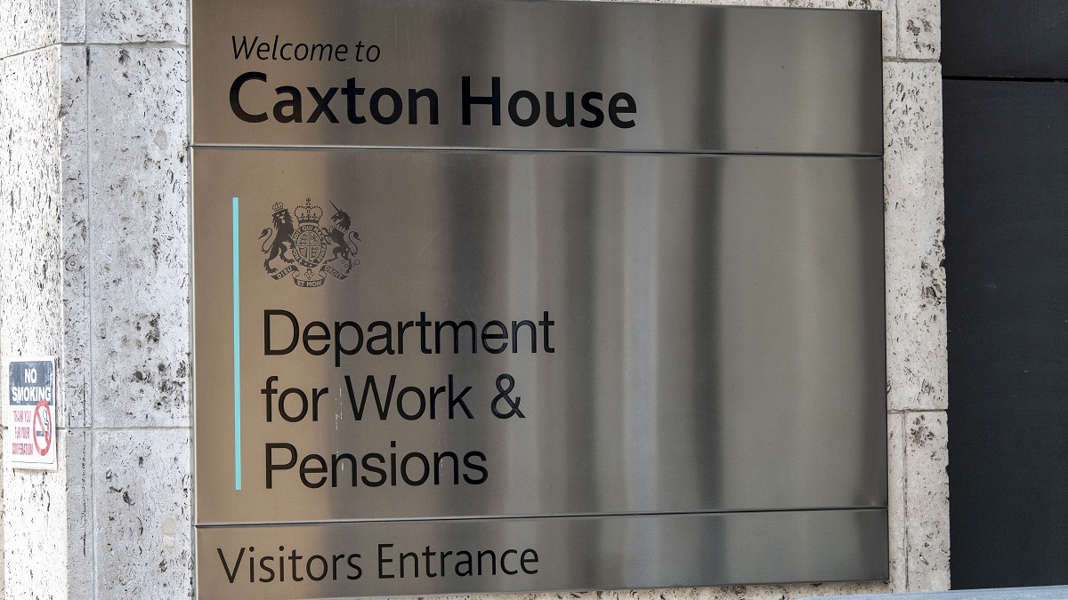 LONDON, UNITED KINGDOM - 2020/08/06: Department for Work & Pensions seen at Caxton House. The Bank of England today warned that parts of the economy might never recover from coronavirus - with unemployment set to rise by a million within months as GDP plunges 9.5% - with the slump set to be the worst in a Century. (Photo by Dave Rushen/SOPA Images/LightRocket via Getty Images)